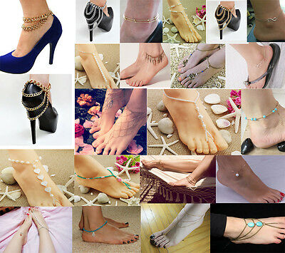 Wholesale Sexy Chain Anklet Ankle Bracelet Barefoot Sandal Beach Foot Jewelry