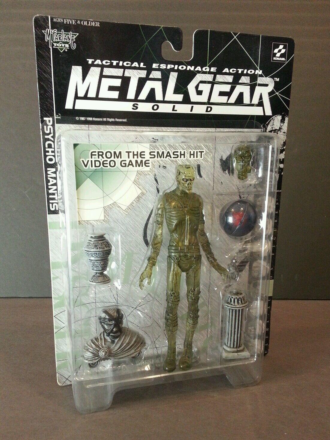 McFarlane leksaker Psycho Mantis GOD VARIANT Metal Gear Solid Action Figur SEALD