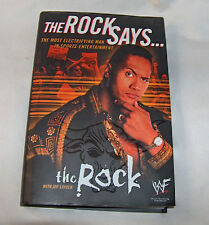 The Rock Says by The Rock, WWF Organization Staff and Rock 2000, Hardcover