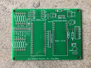 Details about DCC controller - PCB for Arduino, keypad, LCD TFT