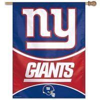 York Giants Wincraft Nfl 27x37 Banner/vertical Flag Free Ship,brand