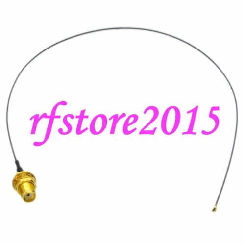 Cable SMA female bulkhead to MHF-5 MICRO IPX LSC Rece 0.81mm 12inch RF Pigtail