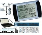 OZWeather™ Solar Powered Touch Screen Weather Station With PC Link
