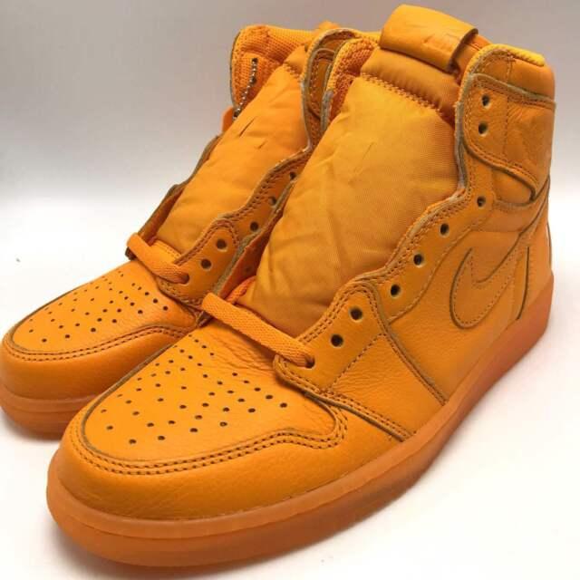 Air Jordan 1 Retro Hi OG Aj5997-880 G8rd Gatorade Orange Size 10 Supreme