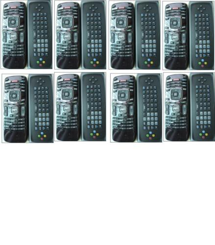 8 Pack--New Vizio XRT4TV XRT300 XRT301 XRT302 Qwerty Keyboard internet Remote