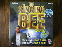 The Singing Bee Board Game With Music Cd Sealed Musical Singing Game Nbc Tv