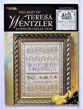 ✔️ Sampler Collection Best of Teresa Wentzler Cross Stitch Pattern Book 9 Charts
