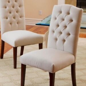 Noble House Olivia Natural Dining Chair X 2 Ebay