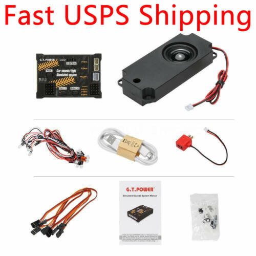 Car Sounds Light Simulated System for RC Racing Drift Car SUV Truck Crawler