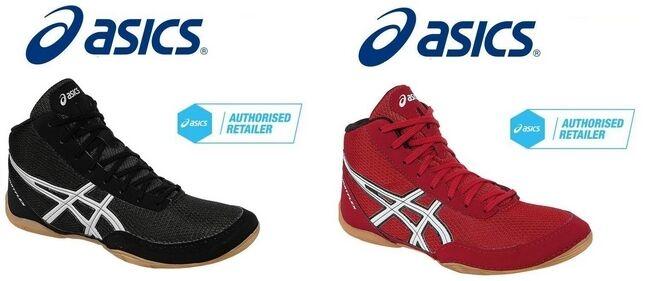 ASICS Wrestling Shoes (boots) Matflex 5 Ringerschuhe Chaussures De Lutte 5 5 UK 37 5 EU 24 25 Cm Black