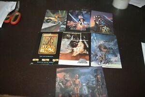 LOT-7-CARTE-POSTALE-FILM-STARS-WARS-1983-1993-1997-RETURN-JEDI-VADOR-CLASSICO