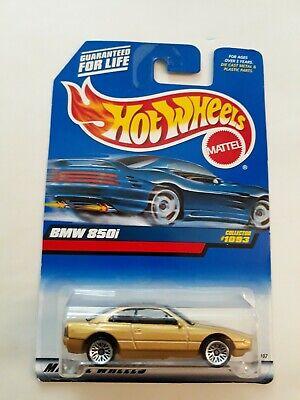 HC3 GOLD w// Lace BMW 850i #1093 Hot Wheels 1999