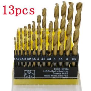 Molti-13pcs-in-Acciaio-HSS-Rivestito-in-Titanio-Set-di-Punte-per-Trapano-1-4