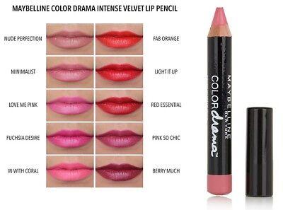 f2212a6d30a Maybelline Color Drama Intense Velvet Lip Pencil Semi-Matte lipstick | eBay
