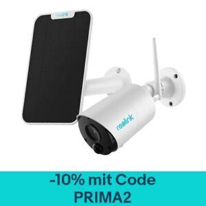 1080p HD WLAN IP Überwachungskamera Außen Kabellose Reolink Argus Eco+Solarpanel