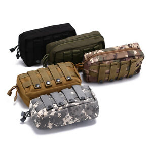 Carrier-Cell-Phone-Holder-For-Backpack-Vest-Molle-Belt-Pouch-Military-Bag