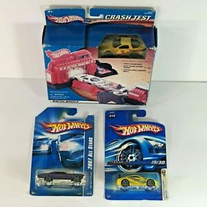 3-Hot-Wheels-2006-1st-Edition-Nissan-Z-019-2007-64-Riviera-140-CRASH-TEST
