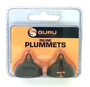 Guru Inline Plummets Coarse Fishing All Sizes