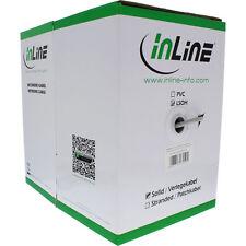 InLine Verlegekabel, SF/UTP, Cat.5e, AWG24 CCA, PVC, 100m