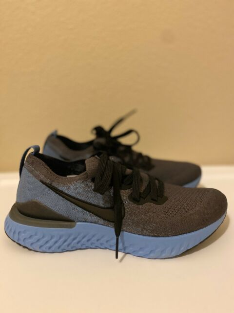 Size 13 Men's Nike Epic React Flyknit 2(Thunder Grey/Black-Ocean Fog) BQ8928-012