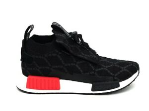 Details about Adidas Sneakers nmd_ts1 PK GTX Black White Red bd8078 show original title