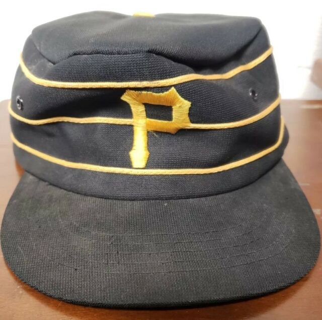 1447ce9e6cb56 Vintage MLB Sports Specialties Pittsburgh Pirates Pillbox Snapback Hat Cap