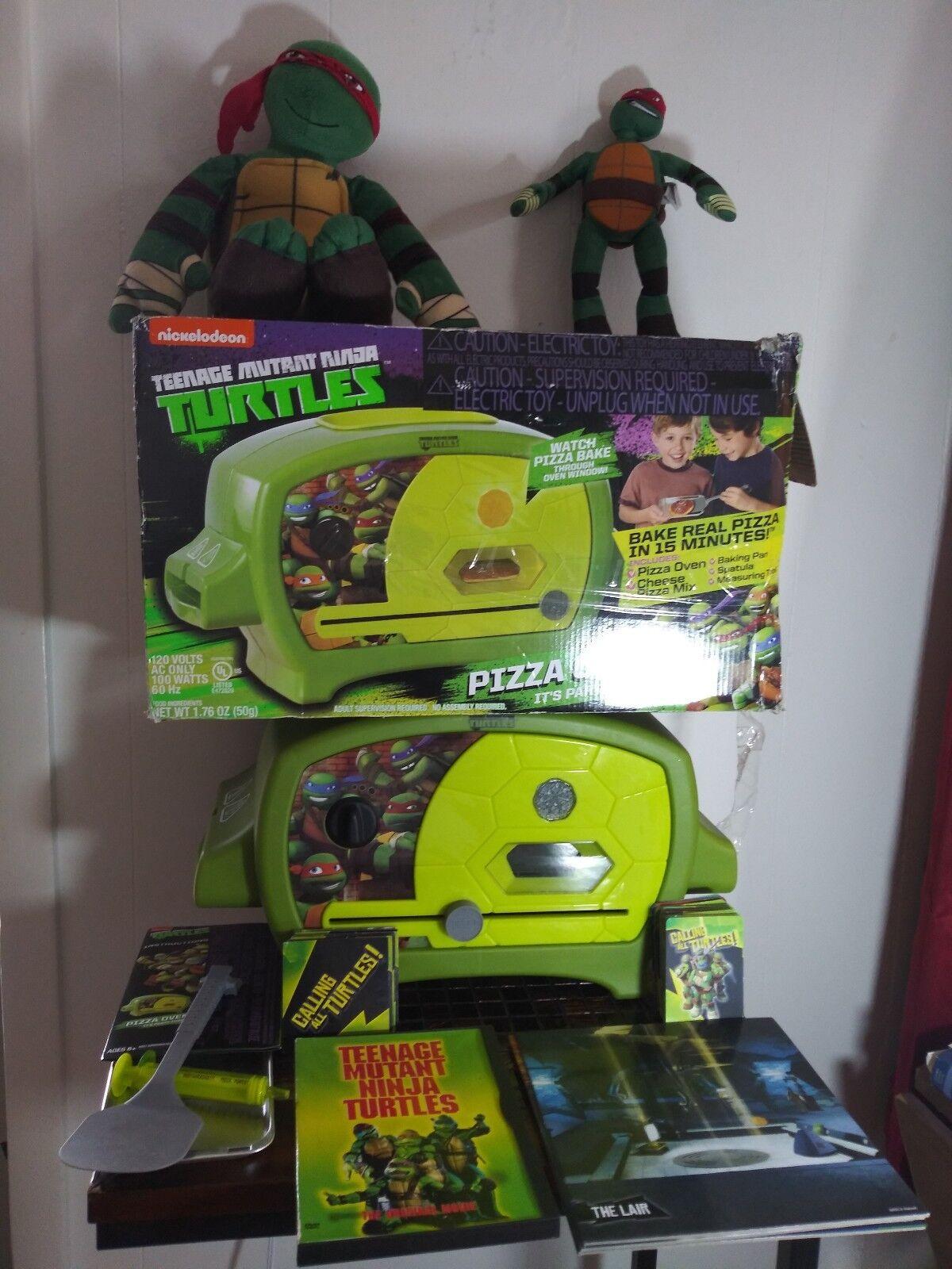 Teenage mutant ninja turtles pizza - ofen + bündeln