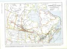 1905 Black Fox Skins Canada Photographs Map Of Dominion