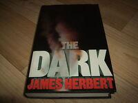JAMES HERBERT-THE DARK-2nd Imp/1ST-1980-HB-VG/NF-NEW ENGLISH LIBRARY-RARE