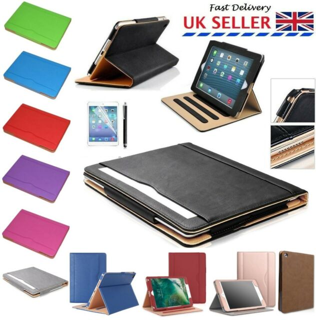 premium selection fd23b 65729 Luxury Magnetic Leather Stand Flip Case Cover For iPad 2 3 4 2017 2018 Air  2 3