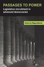 Passages to Power : Legislative Recruitment in Advanced Democracies (1997,...