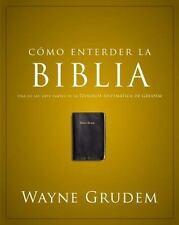 Cómo entender la Biblia: Una de las siete partes de la teología sistemática de