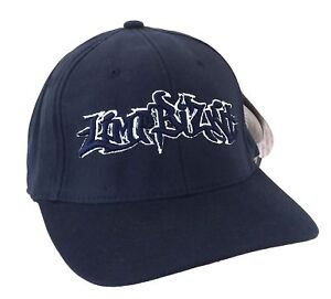 Limp Bizkit Graffiti Logo Dark Blue Baseball Hat Cap New Official ... ea34e5d8529a
