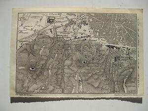 Cartina Topografica Emilia Romagna.Stampa Antica Mappa Pianta Topografica Emilia Romagna Bologna Certosa 1911 Ebay