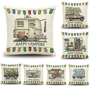Happy-Touring-Car-Campers-Sofa-Pillow-Case-Waist-Cushion-Cover-Home-Decor-18-034
