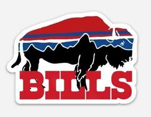 Buffalo Bills Vinyl STICKER - Football NY Bill Waterproof Car Mafia Allen