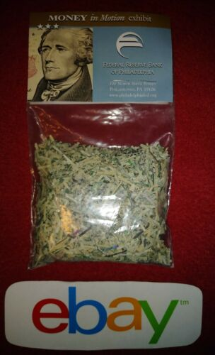 MONEY in Motion Museum shredded currency Federal Reserve Bank PHILADELPHIA