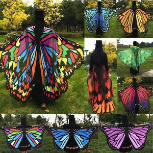Aile-Papillon-Fete-Exterieur-Fee-Femmes-Lutin-Deguisement-Accessoire-Costume