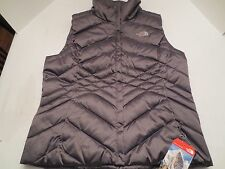 The North Face ACONCAGUA 550 DOWN VEST TNF Rabbit Grey Womens SIZE XL NWT