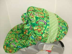 Image Is Loading NINJA TURTLE INFANT CAR SEAT COVER Graco Amp