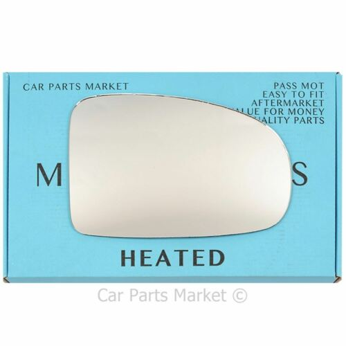 Espejo de puerta de ala derecha Lado Del Conductor Cristal Para Toyota Avensis 09-15 climatizada