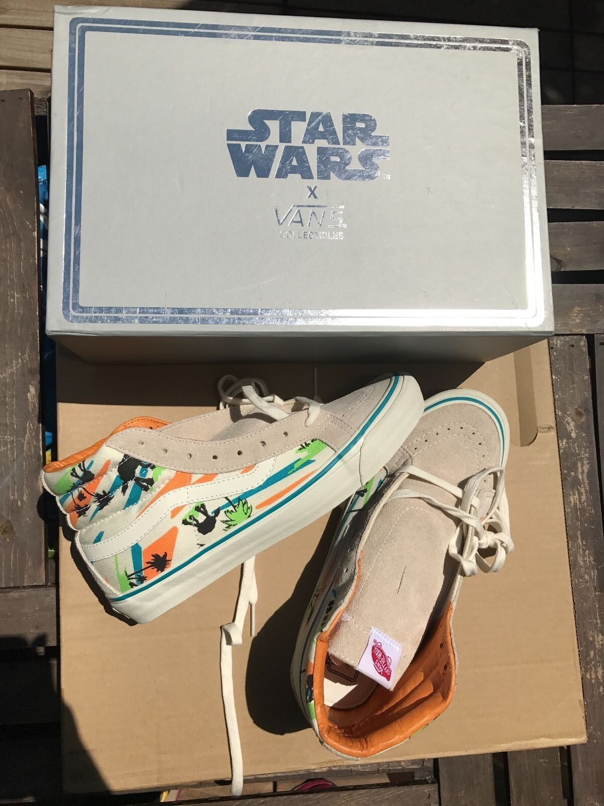 Star Wars x Vans Vault OG Sk8-HI LX Miami AT-AT Limited Edition of 300 Mens 9.5