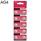 10X AG4 LR626 377 SR626 177 1.5V Alkaline Button Coin Cells Watch Battery Sturdy