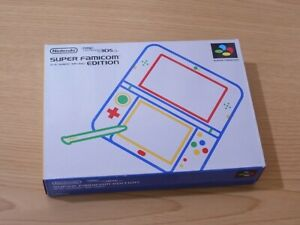 USED-Nintendo-3DS-LL-XL-Console-Super-Famicom-Edition-Japan-Limited-JP-SELLER