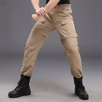 Men's Long Pants Hiking Two In One Removable Fast Drying Shorts Trousers