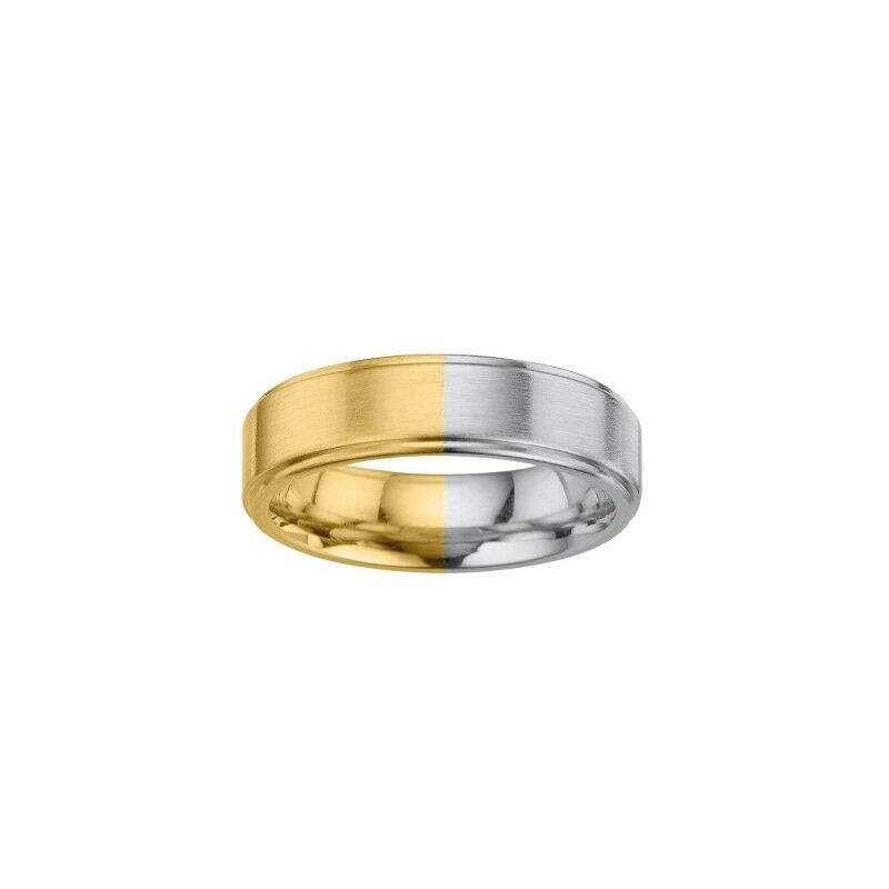 Friendship Ring Stainless Steel gold-Plated 0 1 4in Bfre9117