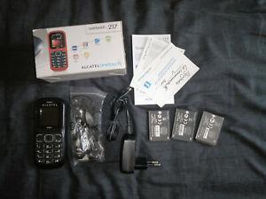 Alcatel One Touch Onetouch 217 Black Téléphone Phone Clavier