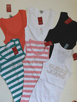 Guess T-shirt Tank Top Size Large & Xl