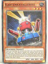 Yu-Gi-Oh 1x #015 Kartenkavallerist - SR03 - Machine Reactor Structure Deck