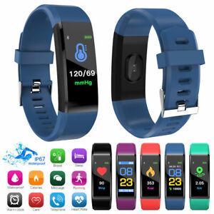 Montre-Bracelet-Sport-Smartwatch-Intelligente-Etanche-Podometre-Fitness-Tracker